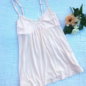American Eagle light peach camisole style top